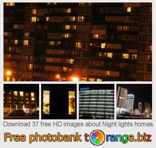 images free photo bank tOrange offers free photos from the section:  night-lights-homes