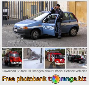 images free photo bank tOrange offers free photos from the section:  official-service-vehicles