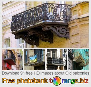 images free photo bank tOrange offers free photos from the section:  old-balconies