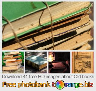 images free photo bank tOrange offers free photos from the section:  old-books