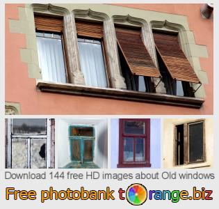 Image bank tOrange offers free photos from the section:  old-windows