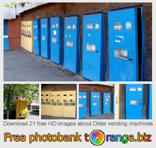 images free photo bank tOrange offers free photos from the section:  older-vending-machines