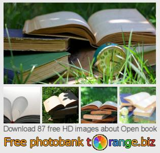 Image bank tOrange offers free photos from the section:  open-book
