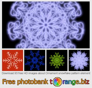 images free photo bank tOrange offers free photos from the section:  ornament-snowflake-pattern-element