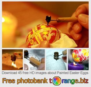 Image bank tOrange offers free photos from the section:  painted-easter-eggs