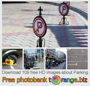 Image bank tOrange offers free photos from the section:  parking