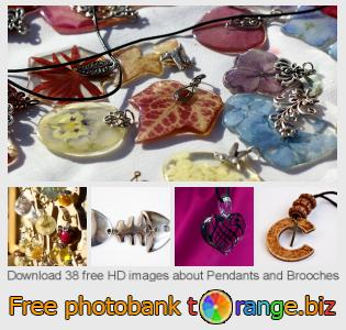 images free photo bank tOrange offers free photos from the section:  pendants-brooches