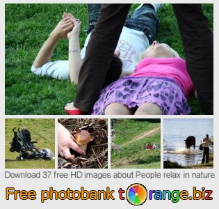 images free photo bank tOrange offers free photos from the section:  people-relax-nature