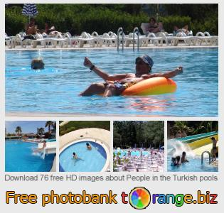 Image bank tOrange offers free photos from the section:  people-turkish-pools