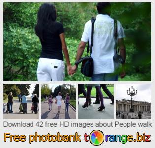 images free photo bank tOrange offers free photos from the section:  people-walk