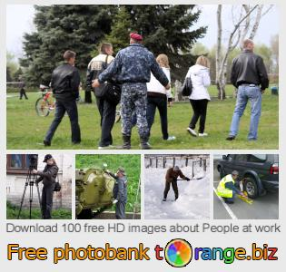 images free photo bank tOrange offers free photos from the section:  people-work