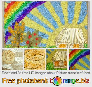 Image bank tOrange offers free photos from the section:  picture-mosaic-food