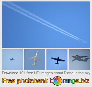 images free photo bank tOrange offers free photos from the section:  plane-sky