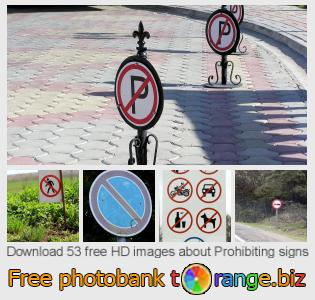 Image bank tOrange offers free photos from the section:  prohibiting-signs