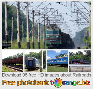 Image bank tOrange offers free photos from the section:  railroads