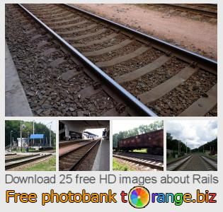 Image bank tOrange offers free photos from the section:  rails