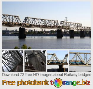 images free photo bank tOrange offers free photos from the section:  railway-bridges
