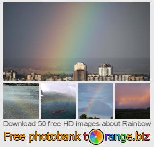 Image bank tOrange offers free photos from the section:  rainbow