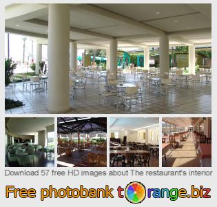 Image bank tOrange offers free photos from the section:  restaurants-interior