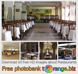 images free photo bank tOrange offers free photos from the section:  restaurants