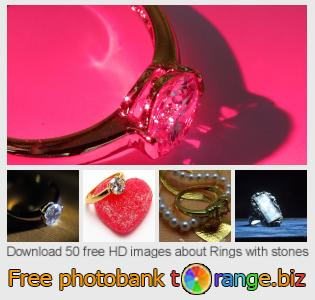 Image bank tOrange offers free photos from the section:  rings-stones