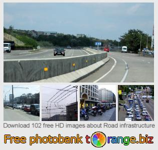 Image bank tOrange offers free photos from the section:  road-infrastructure