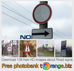Image bank tOrange offers free photos from the section:  road-signs