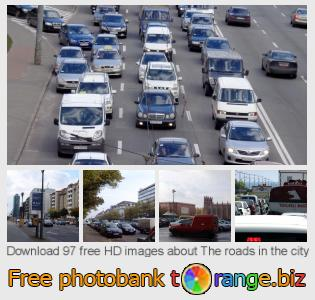 Image bank tOrange offers free photos from the section:  roads-city