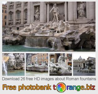 images free photo bank tOrange offers free photos from the section:  roman-fountains