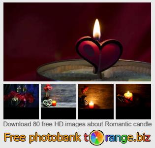 Image bank tOrange offers free photos from the section:  romantic-candle