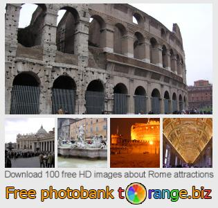 images free photo bank tOrange offers free photos from the section:  rome-attractions
