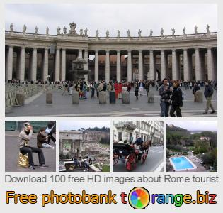 images free photo bank tOrange offers free photos from the section:  rome-tourist