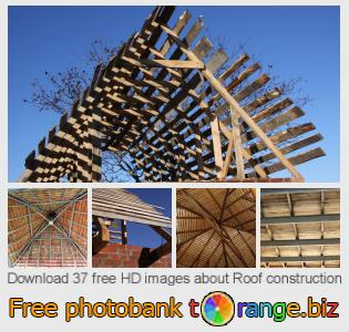 images free photo bank tOrange offers free photos from the section:  roof-construction