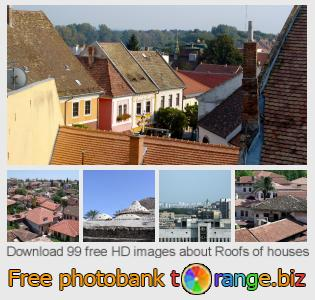 Image bank tOrange offers free photos from the section:  roofs-houses