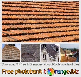 images free photo bank tOrange offers free photos from the section:  roofs-made-tiles