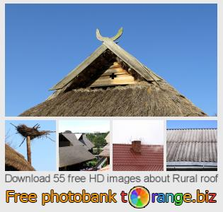 Image bank tOrange offers free photos from the section:  rural-roof