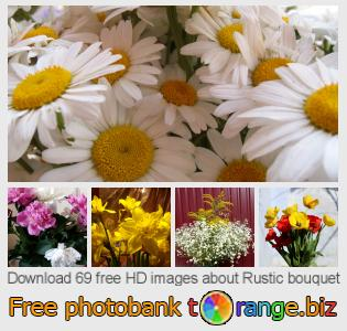 Image bank tOrange offers free photos from the section:  rustic-bouquet