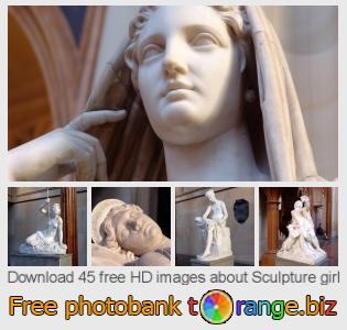 images free photo bank tOrange offers free photos from the section:  sculpture-girl