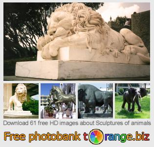 images free photo bank tOrange offers free photos from the section:  sculptures-animals