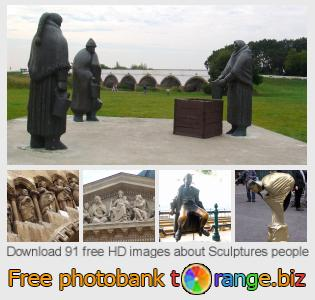 images free photo bank tOrange offers free photos from the section:  sculptures-people