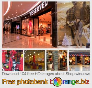 images free photo bank tOrange offers free photos from the section:  shop-windows