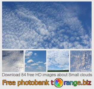 images free photo bank tOrange offers free photos from the section:  small-clouds