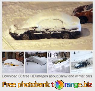 images free photo bank tOrange offers free photos from the section:  snow-winter-cars