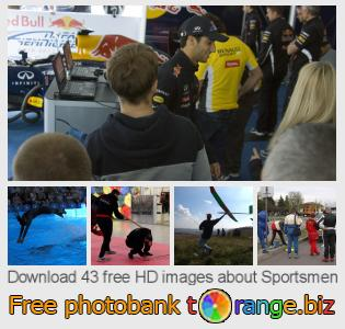 Image bank tOrange offers free photos from the section:  sportsmen