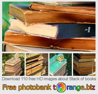 Image bank tOrange offers free photos from the section:  stack-books