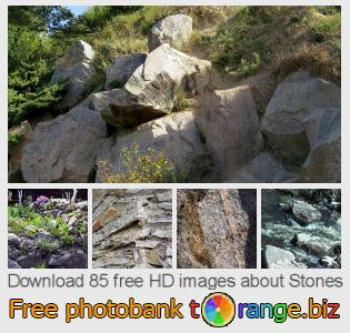 Image bank tOrange offers free photos from the section:  stones