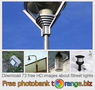 Image bank tOrange offers free photos from the section:  street-lights