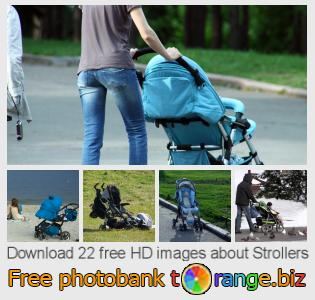 Image bank tOrange offers free photos from the section:  strollers