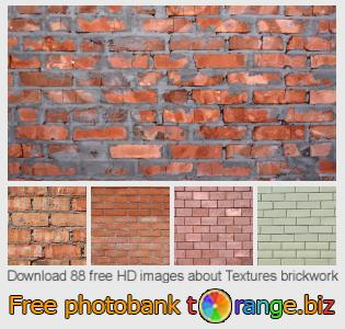 Image bank tOrange offers free photos from the section:  textures-brickwork