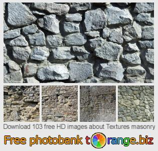 Image bank tOrange offers free photos from the section:  textures-masonry